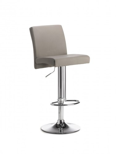 Höhenverstellbarer Barhocker New Sunny Farbe (Sitz / Rücken): Fango
