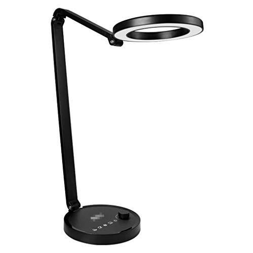 Lámpara Escritorio LED Los estudiantes y niños de lectura lámpara de escritorio for no parpadeo de la lámpara de la lámpara de trabajo de escritura dormitorio lámpara de cabecera de 12 niveles de aten