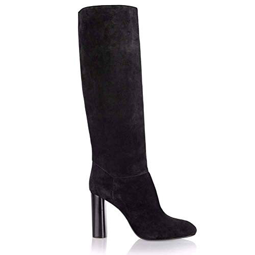 XER Women'S Boots, Aangewezen Mode Comfortabele Hoge hak laarzen Maat 34-47 voor Fancy Dress Party