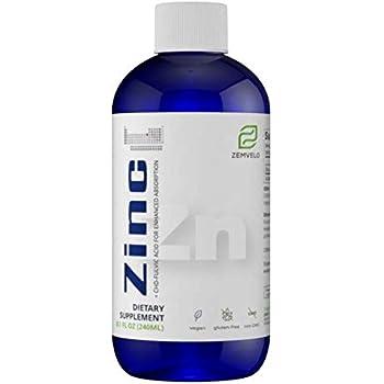 Liquid Ionic Zinc (8 Oz - 96 Day Supply)