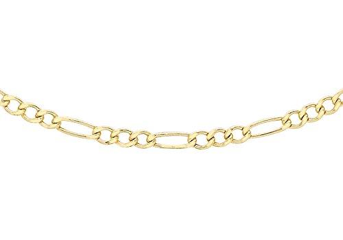 Carissima Gold Collar de mujer con oro amarillo de 9 K (375), 51 cm