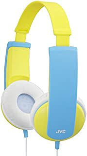 JVC HA-KD5-Y Kids Headphones with Volume Limiter HAKD5 Yellow