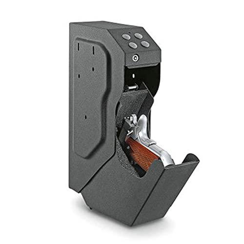 AJDGL Caja Fuerte para Pistolas Dispositivo de Seguridad para Armas de Fuego montado de Acceso rápido Caja Fuerte Secreta Código Digital de Seguridad Caja de Metal de Acero Laminado en frío