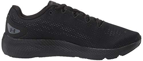 Under Armour Men's Charged Pursuit 2 Running Shoe, Black (003)/Black, 11 M US 7