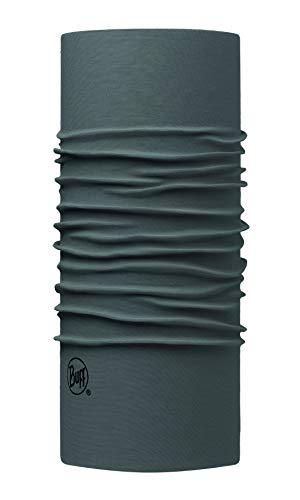 Buff Lightweight Merino Wool Multifunktionstuch, Solid Castlerock Grey, one Size