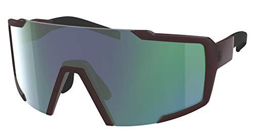 Scott Shield Fahrrad Wechselscheiben Brille schwarz/blau Chrom Amplifier
