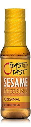 Feast From The East Sesame Dressing, Original, 12 Fl Oz