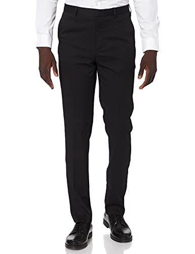 Marchio Amazon - find. Pantaloni Completo Uomo, Nero (Black Black), 36, Label: 36