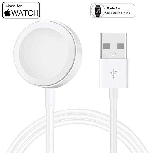 Compatible with iWatch Apple Watch Charger for Series 4/3/2/1 -Newest Smart Watch Charger Magnetic Charging Cord
