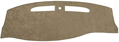 Seat Covers Unlimited Chevy Suburban Dash Cover Mat Pad - Fits 1997-1999 (Custom Suede, Taupe)