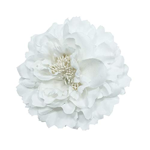 SeniorMar-UK Elegante Rose Blume Haarspange Brosche Haarnadeln für Frauen Mädchen Haarkleid Dekoration Hochzeit Accessoires