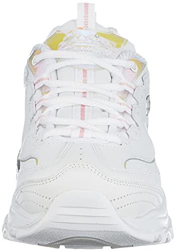 Skechers 149142-WHT_38, Zapatillas Mujer, White, EU