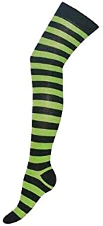 Over The Knee High Socks Striped