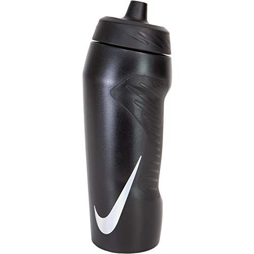 Nike Hyperfuel Squeeze - Botella de agua, color Negro/Negro/Negro., tamaño talla única