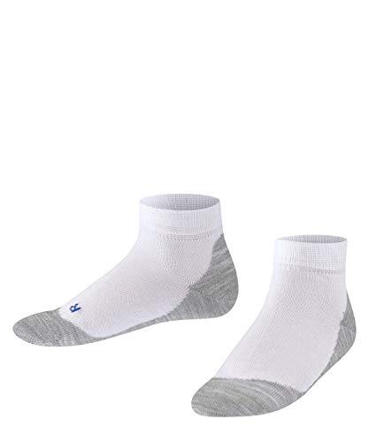 FALKE Kinder Sneakersocken Active Sunny Days - Baumwollmischung, 1 Paar, Weiß (White 2000), Größe: 35-38