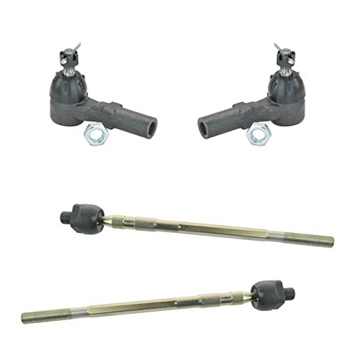 Tie Rod End LH RH Inner & Outer Kit Set of 4 for 99-03 Mazda Protege