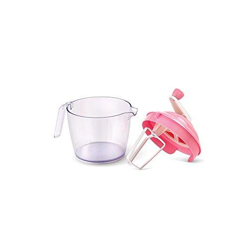 Bakelicious Cupcaker Batter Bowl And Mixer, Pink