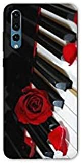 Case for Samsung Galaxy A50 Musique - Rose Piano N