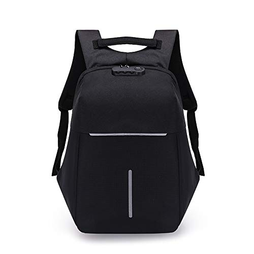 SHENAISHIREN Travel Laptop Backpack,17.7inch Anti-Theft Business Laptop Backpack Bag,with USB Charging Port-for Womens Mens Durable Water Resistant College School Computer Rucksack Work Backpack