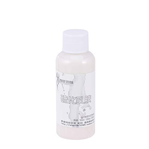 Minkissy 1 Botella de Maquillaje de Látex Líquido Kit de Maquillaje de Vejez Efectos Especiales Látex Líquido para Maquillaje de Zombis Vampiros Y Monstruos