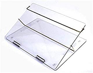 LUVYANSH Writing Table TOP Elevator Desk (P.S Sheets)7m.m Small Size (12 * 16) inch Transparent Clear with Height Adjustab...
