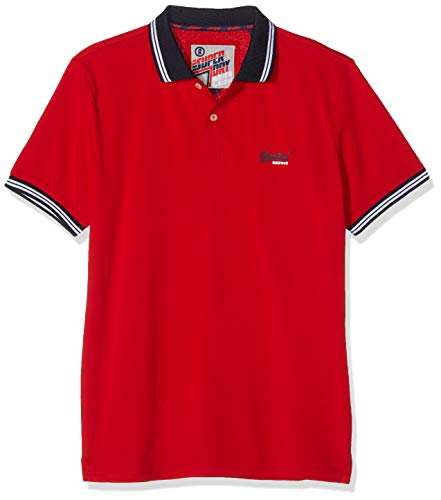 Superdry Heren Classic Lite Micro Sports Polo Shirt