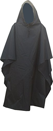 Fire Force Military Style Ripstop Nylon Poncho Size: 55 x 90 Made in U.S.A. Ripstop Rain Poncho...