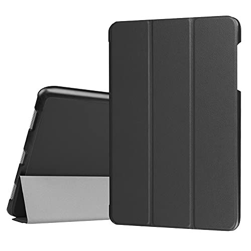 JIANWU Hüllenabdeckung, for asus zenpad. 3S 10 Z500M. Tablet-Gehäuse Leichtgewichtiger Trifold-Stand PC. Hard Back Coverwith Trifold & Auto Wake, Schlaf (Color : Black)