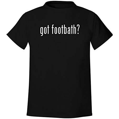 got footbath? - Men's Soft & Comfortable T-Shirt, Black, XXX-Large