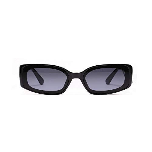 Gafas de sol cuadradas color femenino gafas transparentes gafas de sol hipster europeas y americanas masculinas