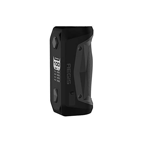 GEEKVAPE Aegis Solo 100W TC Vape Box MOD - Waterproof Dustproof Shockproof Lighter Smaller No Battery No e Liquid, No Nicotine (Black)