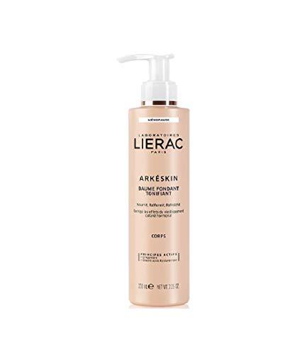 Lierac Arkeskin Balsamo Corpo Fondente Tonificante per la Pelle in Menopausa, con Acido Ialuronico, Formato da 200 ml