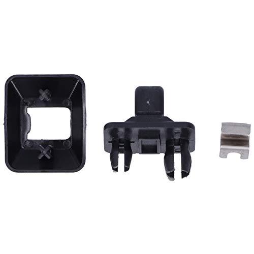 aqxreight - Clip para visera solar, accesorio de repuesto para gancho de visera interior de coche para A1 / A3 / S3 / A4 / S4 / Q3 / RS3 8U0857562A