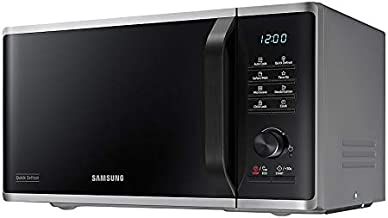 Samsung MS23K3515AS/EN - Microondas (Encimera, Solo microondas, 23 L, 800 W, Botones, Giratorio, Plata)