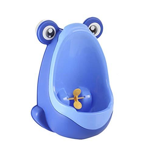 HONGYIFEI2021 토들러 벽걸이 아기 포티 개구리 어린이 수직 우리 소년 화장실 포티 트레이닝을 위한 포티 시트 (색 : 블루)