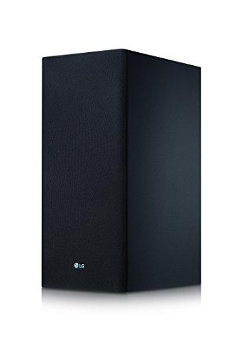 LG SK8 - Barra de sonido Hi-Res (Dolby Atmos, 360 W, Google Assisant, Chromecast integrado, subwoofer inalámbrico, Wifi y Bluetooth) color negro