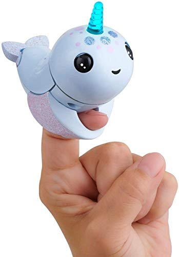 WowWee Fingerlings Light Up Narwhal