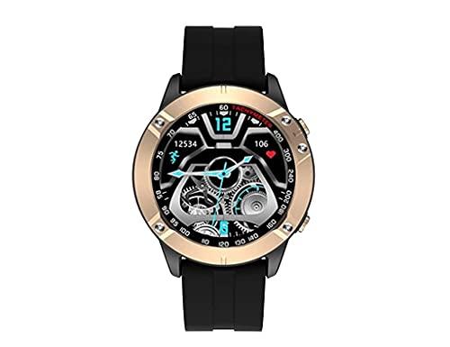 Reloj LISKA SMARTWATCH Caja Redonda Silicona Negra SV-13TF-2