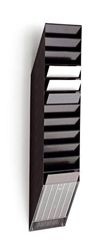 Durable 1709763060 Prospektspenderset (Flexiboxx 12 A4) 1 Set schwarz