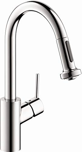 hansgrohe Talis S² Premium 1-Handle 15-inch Tall Kitchen Faucet with Pull Down Sprayer Magnetic...