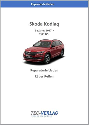 Skoda Kodiaq (2016>) Reparaturleitfaden Räder u. Reifen (gedrucktes Buch)