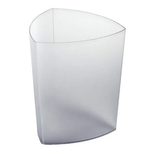 Rexite Papierkorb Eco Pro transparent weiß 1500.PP.P5.71