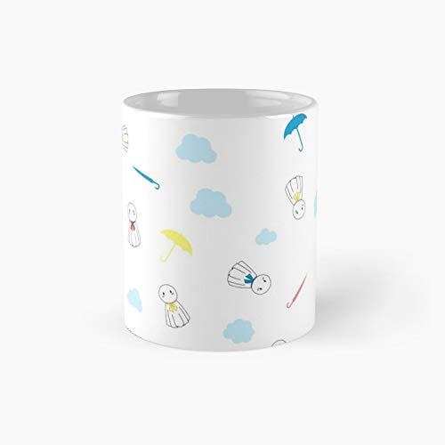 Weathering With You Rain Doll Print Classic Mug Best Gift Funny Coffee Mugs 11 Oz
