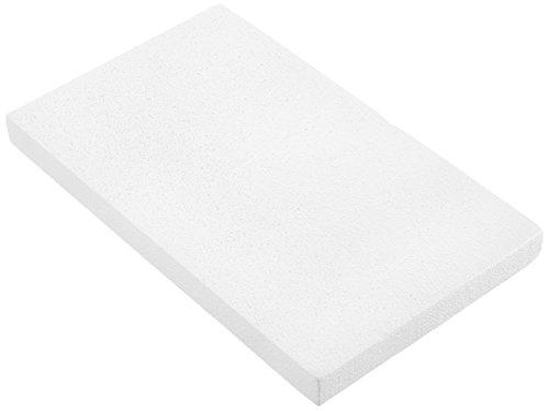 GLOREX 63803861K Placa de poliestireno, poliestireno, Blanco, 50x 30x 4cm