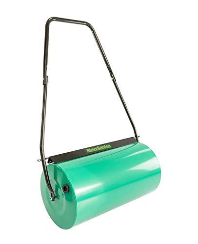 MaxxGarden Lawn Roller – Steel, Lawn, Garden – Width 60 cm – Roll Diameter: 33 cm - Filling volume: approximately 60litres.