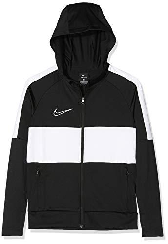 Nike Jungen Sport Jacket B NK DRY ACDMY JKT HD I96 K, black/white, M, BQ1502