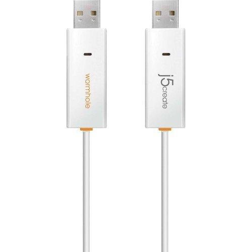 KENTRON J5Create Kabel Datenaustausch zwischen 2verschiedenen mit OS PC, Weiß