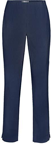 INA-740 MARINE von STEHMANN Gr: 44 - Stretchige Damenhose hoher Bund-mindestens 1 Nummer kleiner bestellen!