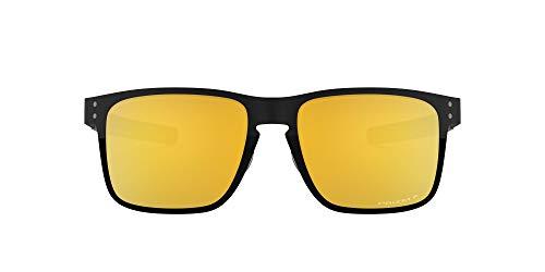 Oakley Unisex-Erwachsene Holbrook Metal OO4123 Sonnenbrille, Schwarz (Negro), 0
