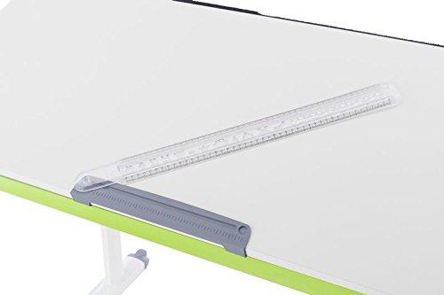 Kettler Zubehör für Schreibtische: Lineal, Plastik, Grau, 55.7 x 5.7 x 2.8 cm